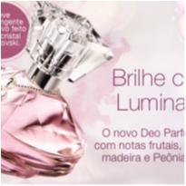 NOVO - Deo Parfum Luminata Avon 50ml + Pingente Cristais Swarovski -  - avon