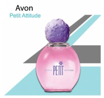 NOVO - Petit Attitude Deo Colônia 50ml - Sem faixa etaria - avon