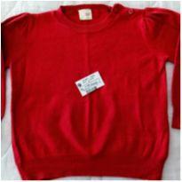 Blusão Vermelho tam 12 a 18 meses TEDDY BOOM! - 12 a 18 meses - Teddy Boom