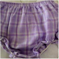 NOVO - Tapa Fralda Lilás tam 18 meses INFANT! - 18 meses - INFANT