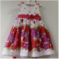 Vestido de Festa Floral tam 1 ano MENINA BONITA! - 1 ano - Menina Bonita