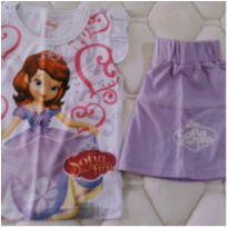 NOVO - Conjunto Princesinha Sofia Disney by Walmart! - 3 anos - Disney