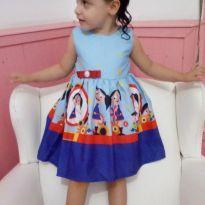 Vestido de Festa Show da Luna! - 2 anos - Charmosa