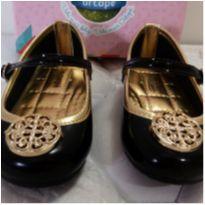 Sapato de Festa tam 21 ORTOPÉ...na caixa!