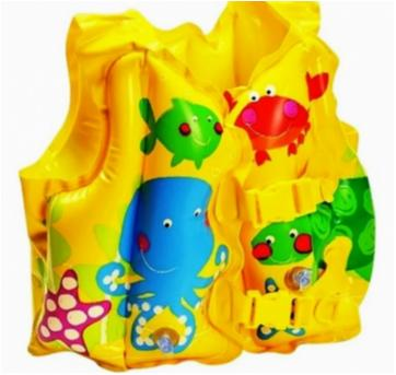Colete Inflável Infantil Peixinhos! - Sem faixa etaria - Intex