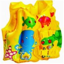 Colete Inflável Infantil Peixinhos! -  - Intex