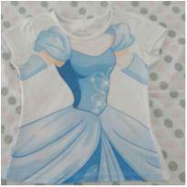 Camiseta Cinderela DISNEY ❤ - 4 anos - Disney