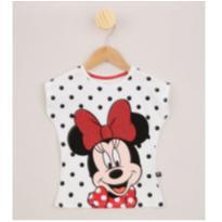 Camiseta Minnie by DISNEY ❤ - 3 anos - Disney