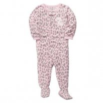 Macacão Carters Fleece Gatinha _ 18 meses - 18 meses - Carter`s