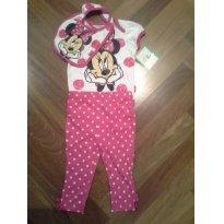 Conjunto Minnie - 6 a 9 meses - Disney