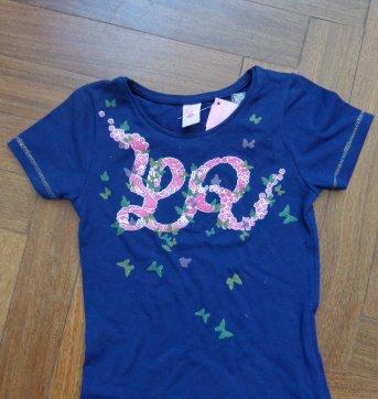 Conjunto bermuda + camiseta Lilica Ripilica - Tamanho 4 - 4 anos - Lilica Ripilica