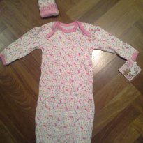 Conjunto Saco de dormir + touca Hello Kitty - Importado - 0 a 3 meses - Hello  Kitty