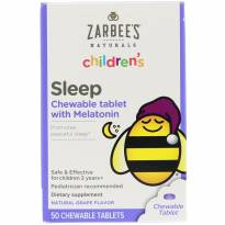 Suplemento Infantil para sono Melatonina Zarbees -  - Não informada