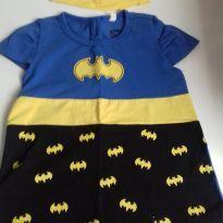 Blusa batgirl com tiara - 18 a 24 meses - TM & DC COMICS