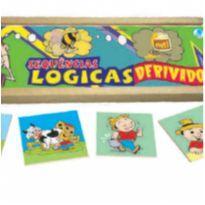 Sequência lógica - derivados Jogo educativo escolar -  - Não informada
