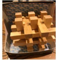 Cubo De Madeira 15 pç- Aceita O Desafio?!! -  - Não informada