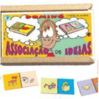 DOMINÓ Associação de Ideias 3 ANOS + -  - Não informada