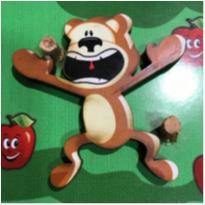 Macaquinho maluco - brinquedo sendorial para bebês -  - Não informada