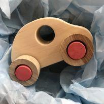 Carrinho de madeira para bebês -  - Não informada
