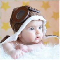 Touca Gorro aviador Infantil -  - Importado