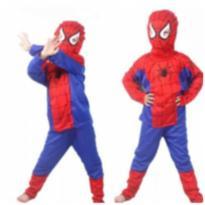 Fantasia Infantil Homem Aranha-SpiderMan -  - Importado
