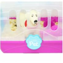 Cachorro com maletinha little pet -  - Home Play