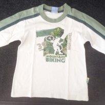 Camiseta manga longa PUC - 2 anos - PUC