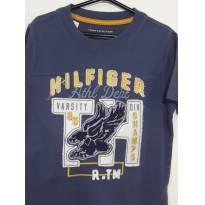 Camiseta Tommy Hilfiger Bordada - 4 anos - Tommy Hilfiger