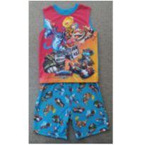 Pijama Infantil Importado Usado Skylanders - 6 anos - Não informada