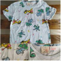 Camiseta Infantil Zara Usada - 3 anos - Zara Baby