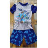 Pijama Infantil Importado Usado Toy Story $ - 10 anos - Disney