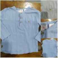 Bata Manga Longa Infantil Zara USADA - 2 anos - Zara Baby