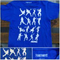 Camiseta Infantil Fortnite ORIGINAL IMPORTADA - 5 anos - Não informada