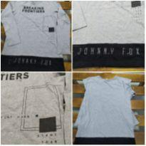 Camiseta Manga Longa Johnny Fox - 14 anos - Johnny Fox