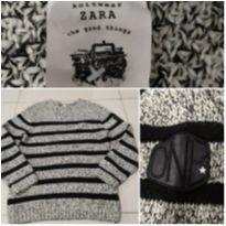 Malha Lã Infantil Zara - 9 anos - Zara