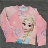 Camiseta para piscina Frozen - 6 anos - Frozen
