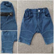 Bermuda Moletinho Jeans - 3 anos - Nosh