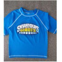 Camiseta Para Piscina - 6 anos - Não informada