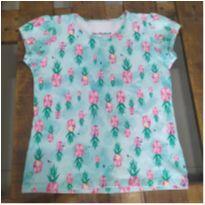 Camisa estampada com strech Lilica Ripilica - 8 anos - Lilica Ripilica