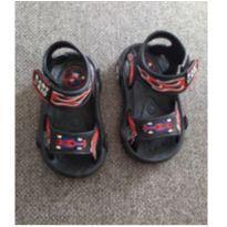 Sandália plastica - 17 - Não informada