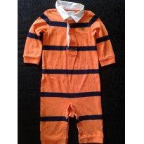 Macacao Ralph Lauren em malha Polo - 6 meses - Ralph Lauren