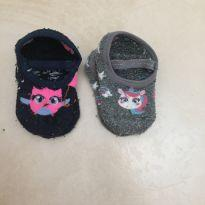 Meias sapatilhas tamanho 18 ao 23 - 3 anos - Puket