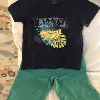 Conjunto Tip Top Tropical Vibes Verão - 1 ano - Tip Top