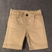 Bermuda Creme Fofa - 12 a 18 meses - Polo wear