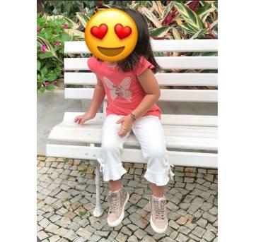 PantaCourt Zara com laços - 5 anos - Zara