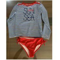 Blusa com proteção UV da Náutica - 6 anos - Nautica