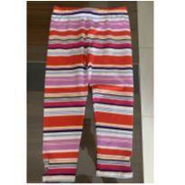 Calça legging da Gymboree com etiqueta - 7 anos - Gymboree