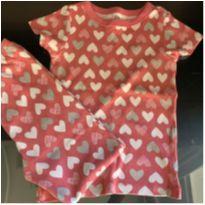 Pijama Corações da Gymboree - 6 anos - Gymboree