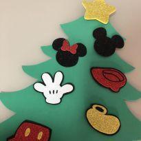Enfeites de Natal mickey e minnie -  - Sem marca