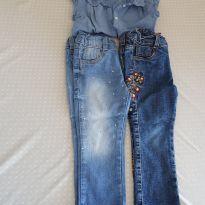 Lote Jeans - 2 anos - H&M e poll kids Riachuelo